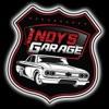Indy's Garage podcast artwork