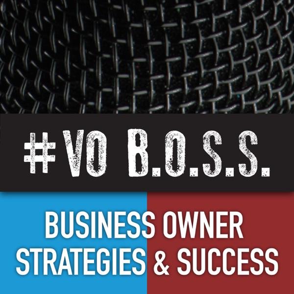 VO BOSS Podcast banner backdrop