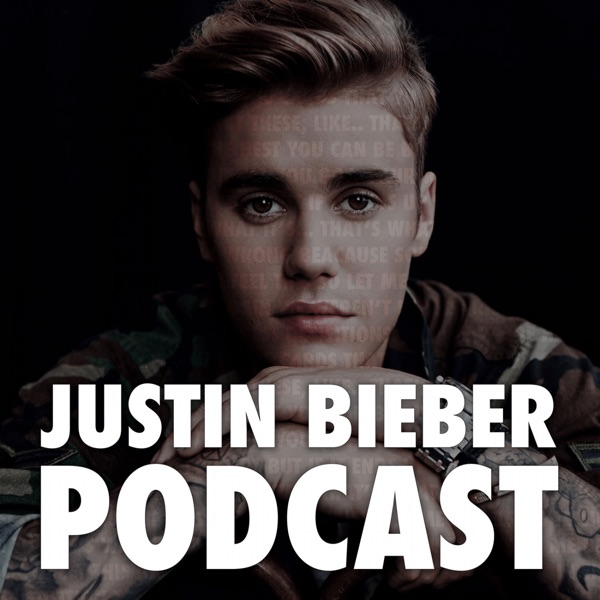 Justin Bieber Podcast banner backdrop