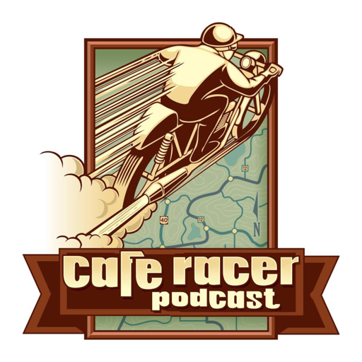 Cover image of The Cafe Racer Motorcycle Podcast