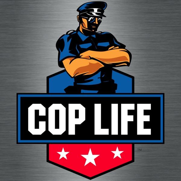 Cop Life banner backdrop
