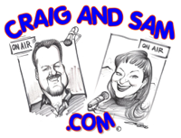Craig and Sam's Entertainment Report podcast