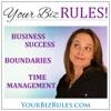 Your Biz Rules (TM) Podcast with Leslie Hassler (business building, time management, small business success, women entrepreneurs) artwork