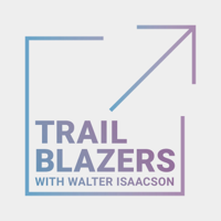 Podcast cover art for Trailblazers with Walter Isaacson