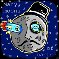 Many moons of banter podcast