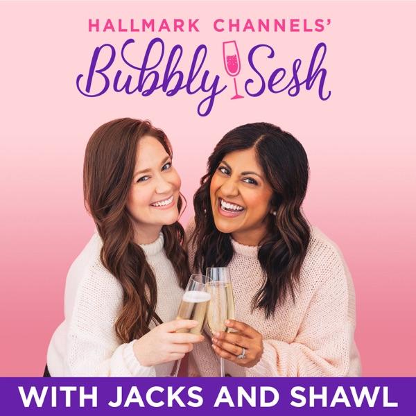 Hallmark Channels' Bubbly Sesh banner backdrop