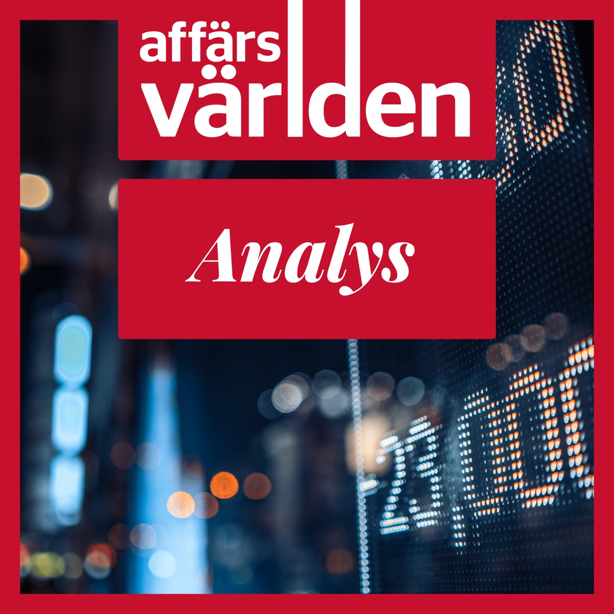 Affärsvärlden Analys