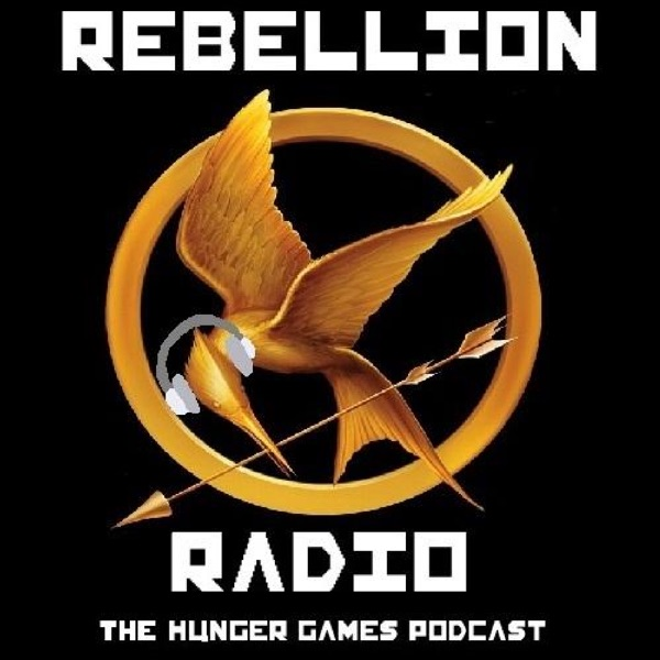 Rebellion Radio: The Hunger Games Podcast banner backdrop