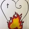 Burning Hearts artwork