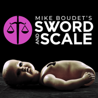 Podcast cover art for Sword and Scale