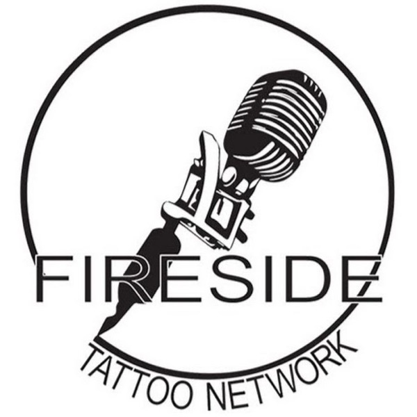 Fireside Tattoo Podcast banner backdrop