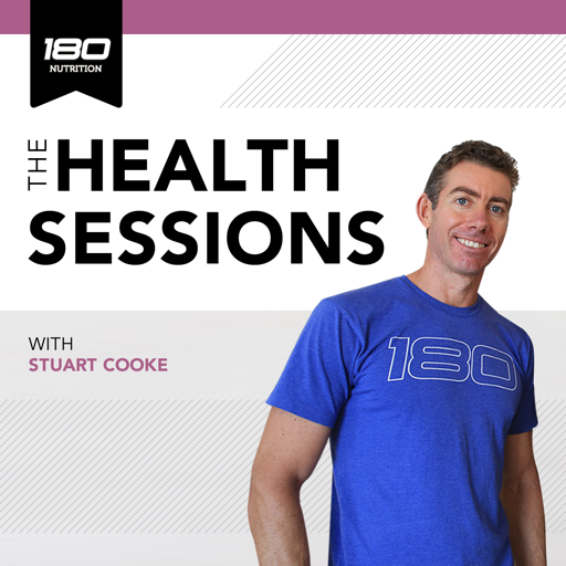 Cover image of 180 Nutrition -The Health Sessions.