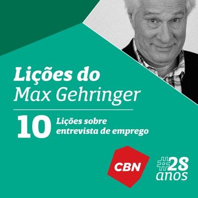 Lições do Max Gehringer:CBN