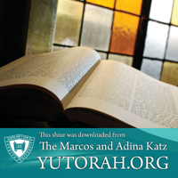 YUTORAH: R' Ezra Frazer -- Recent Shiurim podcast