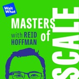 Image of Masters of Scale with Reid Hoffman podcast