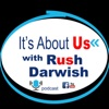 It's About Us with Rush Darwish artwork