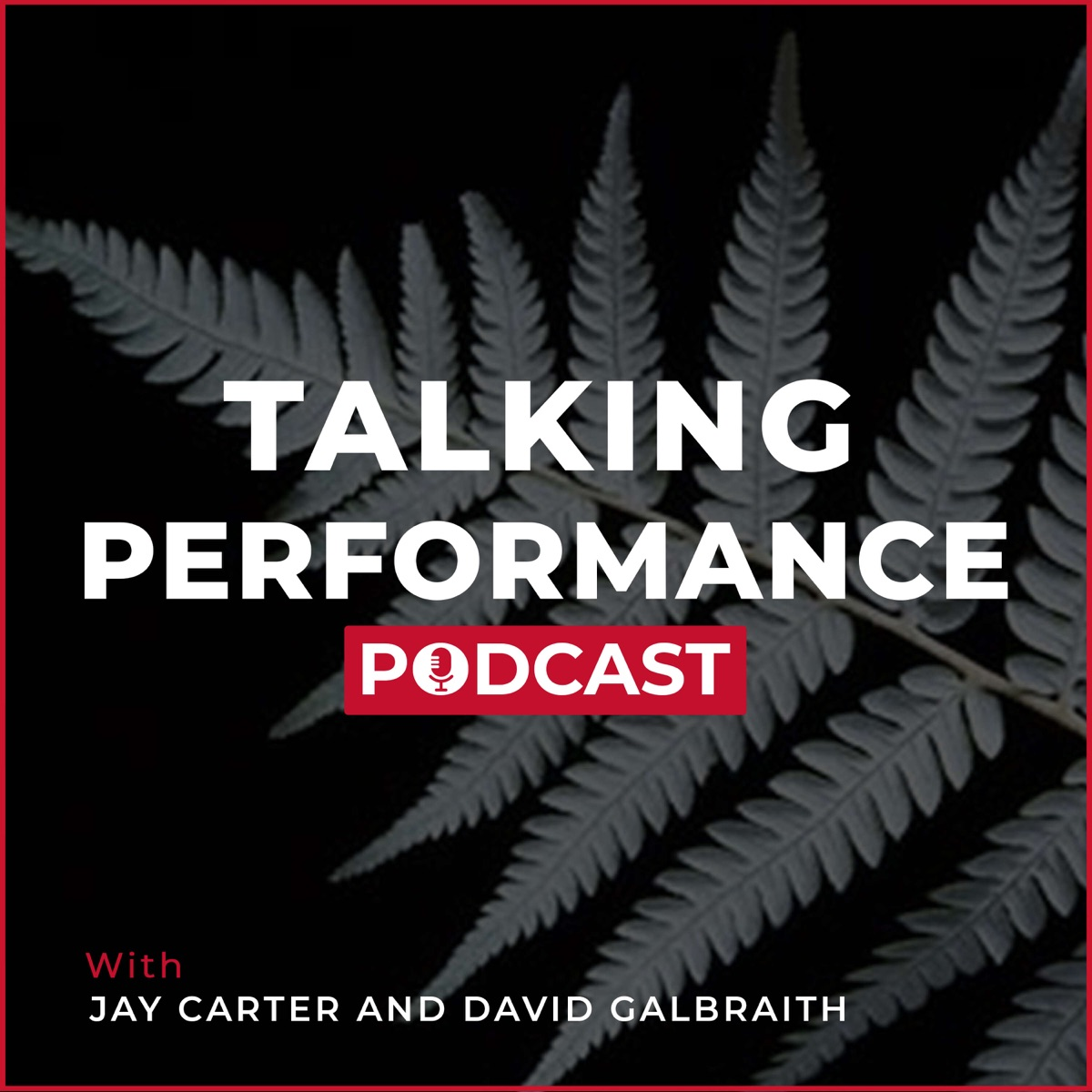 Talking Performance Episode 14 Reflection of Jared Tuoro Session