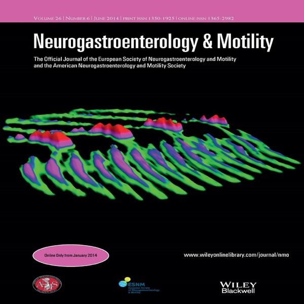Neurogastroenterology & Motility – June 2016