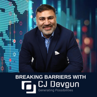 Breaking Barriers with CJ Devgun podcast