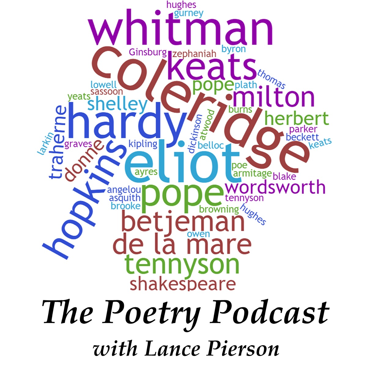 The Poetry Podcast with Lance Pierson