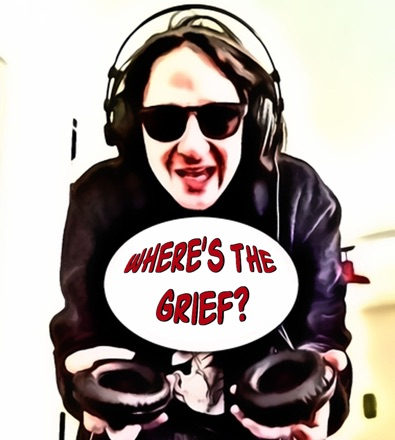 Cover image of Where's The Grief?