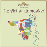 Podcast cover art for The Artist Unmasked