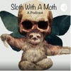 Sloth With A Moth