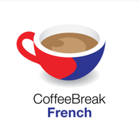 Podcast cover art for Coffee Break French