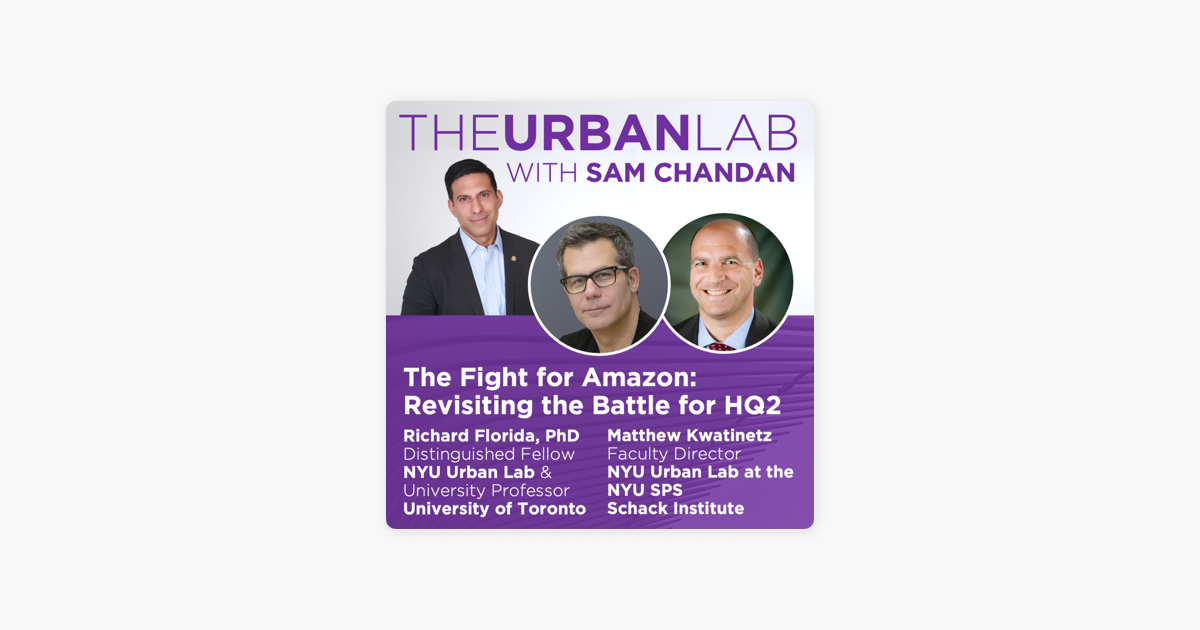 The Fight for Amazon: Revisiting the Battle for HQ2 The Urban Lab