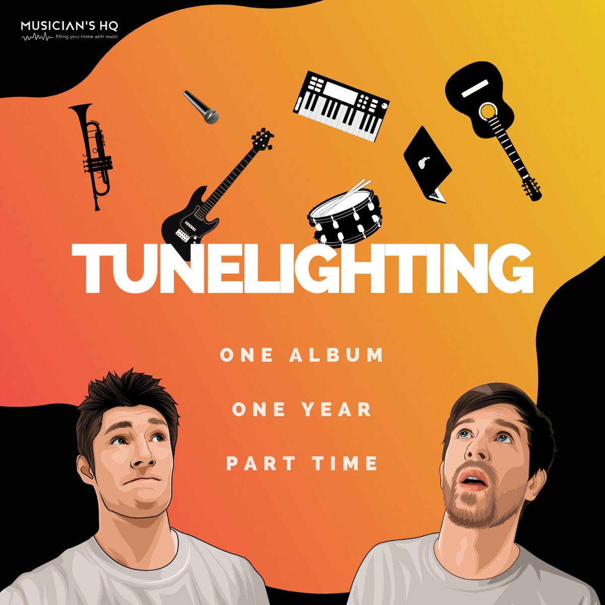 Tunelighting - How to Produce an Album in One Year