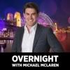 Overnight with Michael McLaren artwork