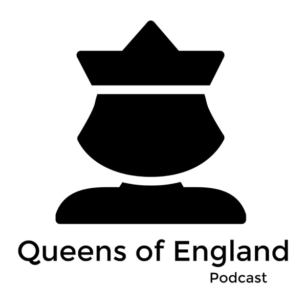 Queens of England Podcast banner backdrop