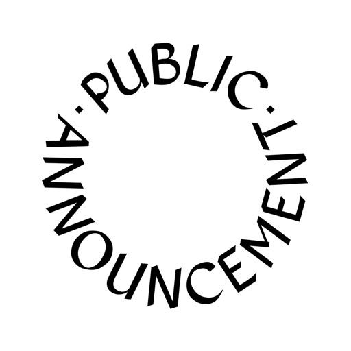 Cover image of Public Announcement