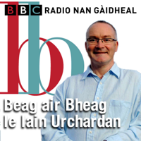 Podcast cover art for Beag air Bheag