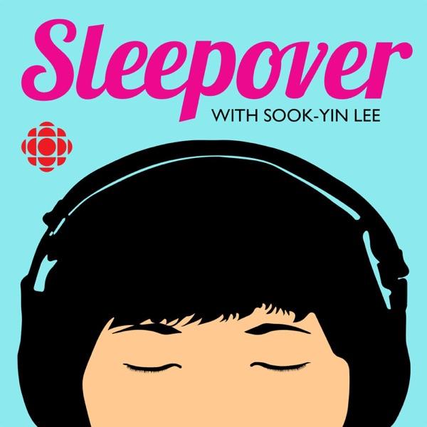 Sleepover banner backdrop