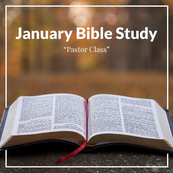 January Adult Bible Study