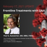 UPDATE 2/17/21 - Frontline Treatments with Q&A