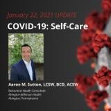 UPDATE 1/22/21 - Self-Care