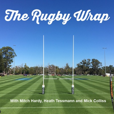 The Rugby Wrap S 1 Ep 14 with Rob Barugh, Alex Stajka and Jono Lance.