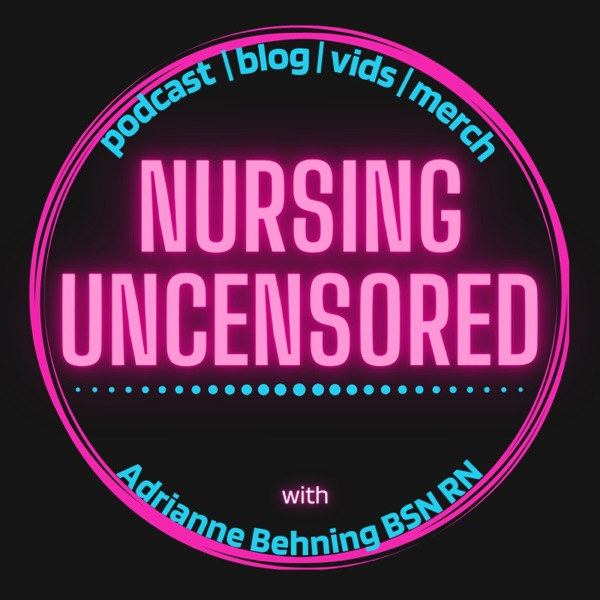 Nursing Uncensored banner backdrop