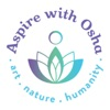 Aspire with Osha: art, nature, humanity artwork