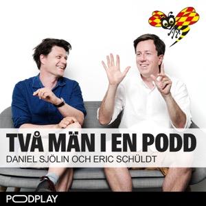 Två män i en podd