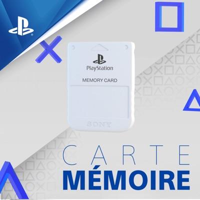 Carte Mémoire – Podcast officiel PlayStation