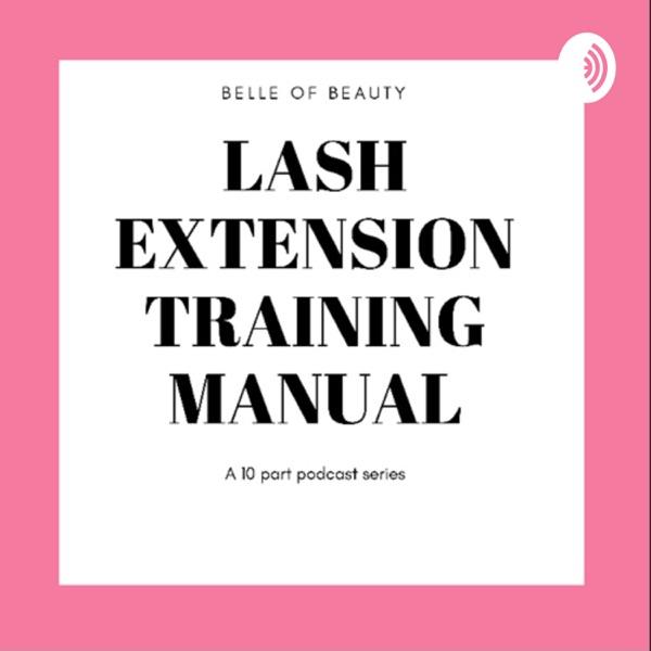 Lash Extension Training Manual Artwork