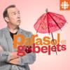 Parasol et gobelets
