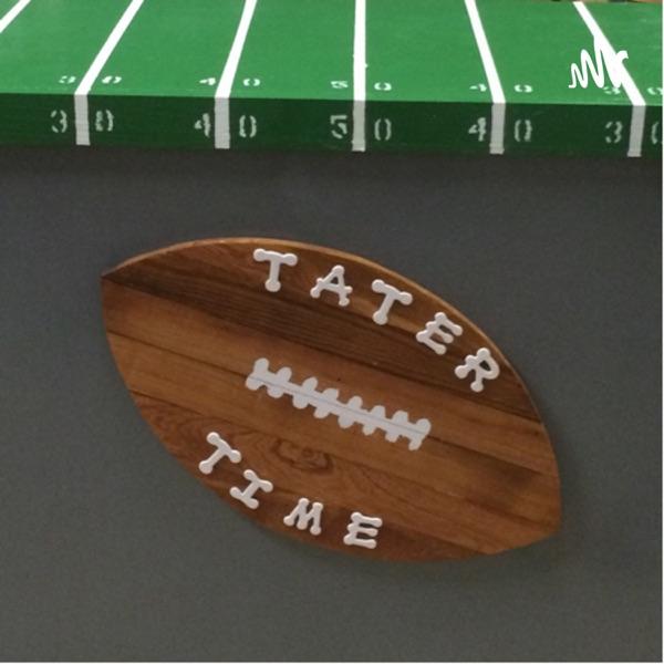 Tater Time Football Artwork