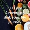 F U Type 2 reversing diabetes. My journey artwork