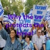 Why the us protects the Isreal artwork