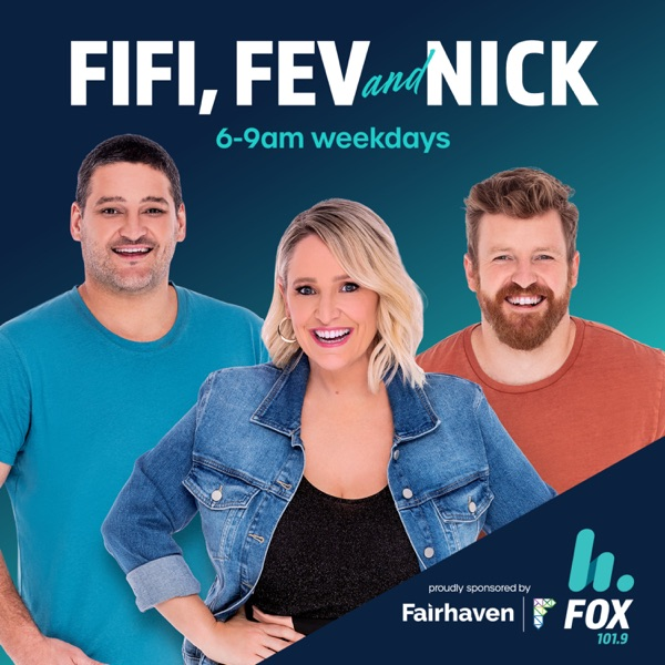 The Fifi, Fev & Nick Catch Up – 101.9 Fox FM Melbourne - Fifi Box, Brendan Fevola & Nick Cody