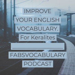 Daily Vocabulary practice for MALAYALAM native speakers.